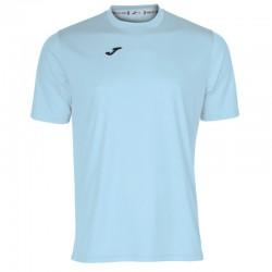 Tričko pánské COMBI JOMA – s krátkým rukávem – světle modrá SKY