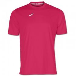 Tričko pánské COMBI JOMA – s krátkým rukávem – růžová FUCHSIA