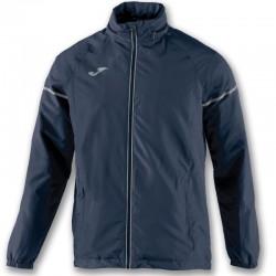 Běžecká bunda JOMA RACE - pláštěnka - dlouhé rukávy – tmavě modrá NAVY