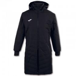 Dlouhý kabát s kapucí ISLANDIA II JOMA dlouhý rukáv – černá