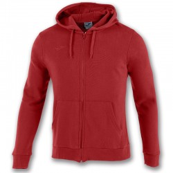 Mikina s kapucí ARGOS II JOMA dlouhý rukáv – červená