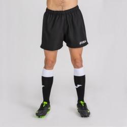 Kraťasy MYSKIN JOMA sportovní bermudy s nohavicí – černá