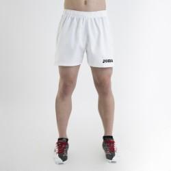 Kraťasy MYSKIN JOMA sportovní bermudy s nohavicí – bílá