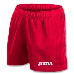 Kraťasy MYSKIN JOMA sportovní bermudy s nohavicí – červená