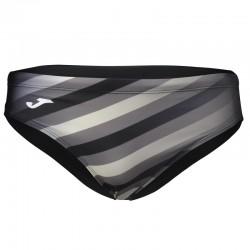 Plavky pánské bez nohavičky SHARK JOMA – černá-šedá