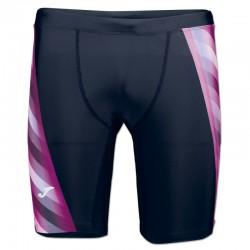 Plavky pánské s nohavičkou SHARK JOMA – černá-fialová