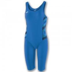 Plavky dámské-celkové s nohavicí SHARK JOMA – světle modrá ROYAL