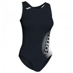 Plavky dámské-celkové LAKE II JOMA – černá-bílá