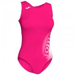 Plavky dámské-celkové LAKE II JOMA – růžová-bílá