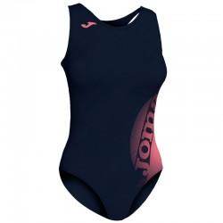 Plavky dámské-celkové LAKE II JOMA – tmavě modrá-růžová