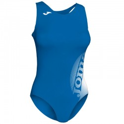 Plavky dámské-celkové LAKE II JOMA – světle modrá ROYAL-bílá